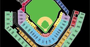 Pnc Park Pirates Seating Chart