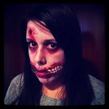 the walking dead little zombie makeup tutorial for