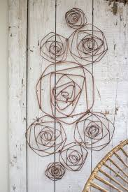 wire roses wall sculpture copper finish on wire wall decor diy with wire roses wall sculpture copper finish wall sculptures rose