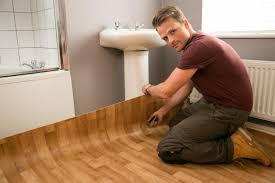 Vinyl Wood Flooring Bathroom