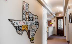 wall art texas state