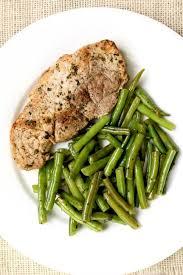 instant pot garlic herb pork chops and