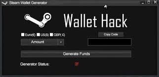 free steam wallet code generator tool