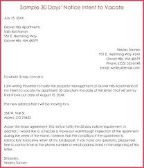 office moving notice to landlord template sle days intent vacate letter day move out