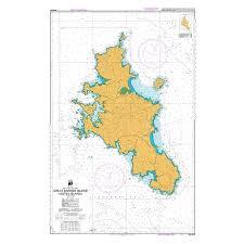 Nz 5222 Hydrographic Marine Chart Great Barrier Island