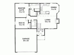 two bedroom house plans. 2 Bedroom House Plan Incredible 14 Narrow Lot Two Home 968 Square Feet Plans D