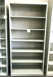 bookcase 12 deep inch shelving unit metal x 1 2 inches wire with doors