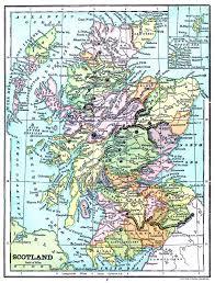 map of scotland printable. Plain Scotland Instant Art Printable U2013 Map Of Scotland With Of T