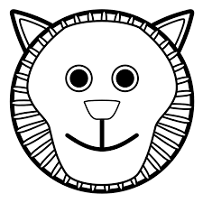 baby lion clipart black and white. Exellent Clipart Cute Lion Clipart Black And White On Baby