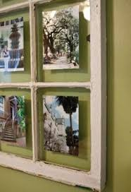 i love anything that uses old window frames.