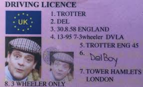 News Del Not Boy By Bbc Driving 'plonker's' - Licence Police Fooled