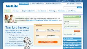 MetLife Life Insurance Login Make A Payment Unique Metlife Life Insurance Quote