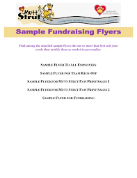 Fundraising Flyer Sample 20 Fundraiser Flyer Templates Pictures And Ideas On Carver Museum