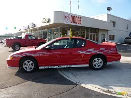 2000 Torch Red Chevrolet Monte Carlo Limited Edition Pace Car SS ...