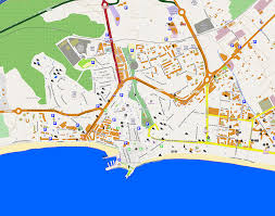 large benidorm maps for free download and print  highresolution
