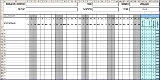 Employee Attendance Sheet In Excel For Office 38 Free Printable Attendance Sheet Templates Lettering Site