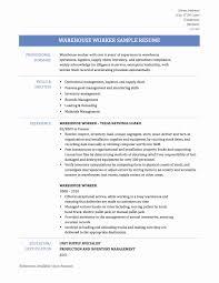 Sample Resume For Packer Job Warehouse Resume Sample Best Warehouse Associate Resume Example 57