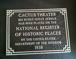 Cactus Theater Lubbock Seating Chart Our History Cactus Theater