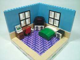 Lego Bedroom Lego Bedroom Moc Youtube