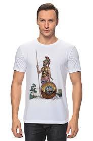Футболка классическая Древний воин. Греция #1366677 от ...