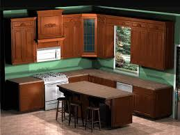 Free Kitchen Cabinet Design Layout, Front View Of The Kitchen Cabinets And  Appliances The Window Is Not   TSC