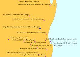 Kings Bay Nsb Kings Bay Cumberland Sound Georgia Tide Chart