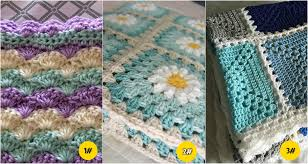 Quick And Easy Crochet Blanket Patterns Gorgeous 48 Quick Easy Crochet Blankets Patterns For 48