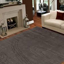grey living spaces rugs