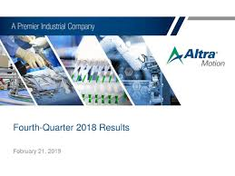 Altra Industrial Motion Shares Off 10% Since Earnings Miss   The ...