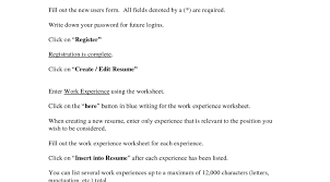 Stunning Resume Fill Out Online Contemporary Resume Ideas