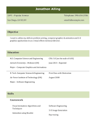 Best Resume Sample For Freshers Types Resumes Formats Professional