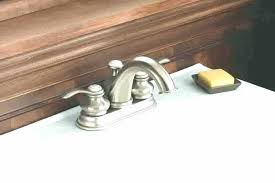 remove old bathroom sink faucet how to remove bathroom faucet handle old bath faucet brushed nickel