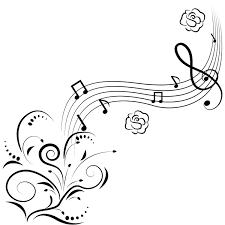 Music Notes Coloring Pages Drawing Kids Clip Art Library