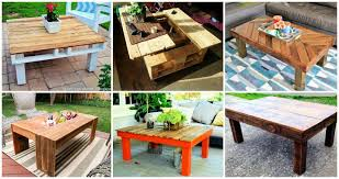 38 adorable pallet coffee table plans