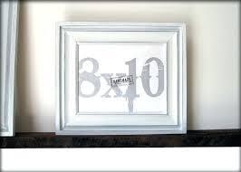 8 x 10 frame picture frames design phenomenal white frame simple in decor 8x10 frames