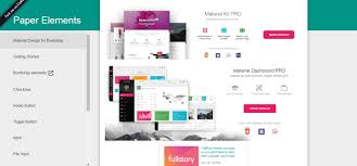 Bootstrap Material Design Example 20 Sleek Material Design Frameworks For Web Designers