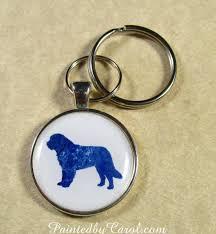 newfoundland dog keychain newfie key fob newfie key ring newfie gifts newfie mom gifts newfie dad gifts gifts with newfoundland dog
