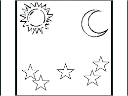 Free Printable Creation Coloring Sheets Days Of Creation Coloring