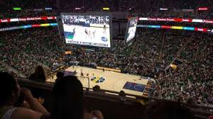 Vivint Smart Home Arena Section 129 Row 8 Seat 14 Home