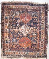 Persian rugs Geometric 7701 Antique Shiraz Persian Rug 56u2033 63u2033 Praguestaycom 7701 Antique Shiraz Persian Rug 56