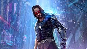 Wallpaper 4k Cyberpunk 2077 Keanu ...