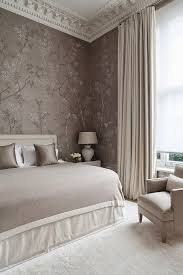 Fifty shades of blush in this classic chic and wildly sophisticated bedroom.  The gracie chinoiserie