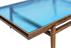 blue glass coffee table coffee table walnut frame with brass inlay blue glass top pictures amusing dark finish art deco blue glass coffee table