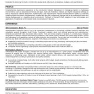 construction superintendent resume samples piping superintendent    resume design  sample resume for residential construction superintendent worker resume examples o resumebaking page not