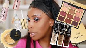 today i m testing out a bunch of new makeup i got in pr from brands and let me telllll you they re giving us looks