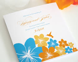 orange and turquoise wedding invitations. late summer wedding colors orange and turquoise invitations c