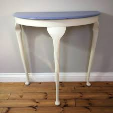 half round end tables large size of decorating half moon breakfast table semi circle hall table
