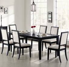 plain modern white dining room chairs lovely on other in glamorous