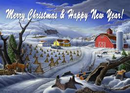Image result for farm winter New Years
