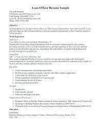Loan Officer Resume Mortgage Loan Officer Resume Job Wining